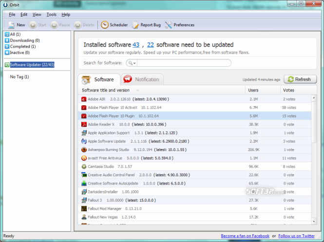 Orbit Downloader Screenshot
