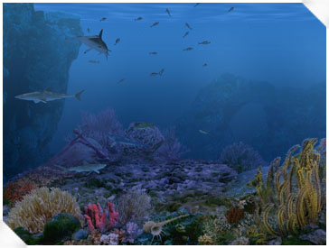 Living 3D Sharks Screenshot 1