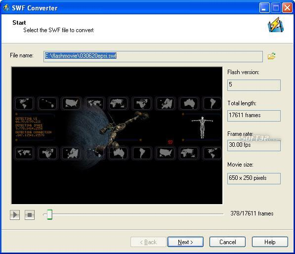 SWF to Video Converter-Adobe Recommend! Screenshot