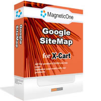 X-Cart Google SiteMap Screenshot 1