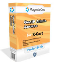 X-Cart GeoIP Admin Access - X Cart Mod Screenshot