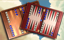 Hardwood Backgammon Screenshot 1