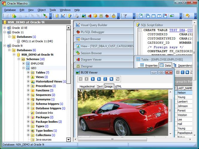Oracle Maestro Screenshot