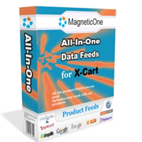 X-Cart All-in-One Product Feeds Screenshot