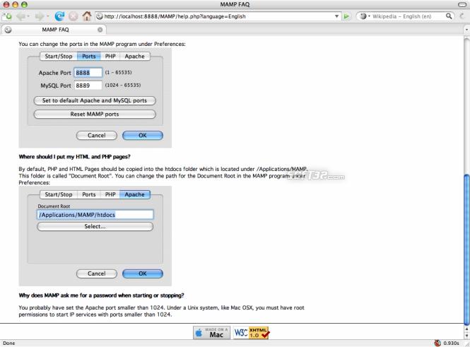 MAMP Pro & MAMP Screenshot 26