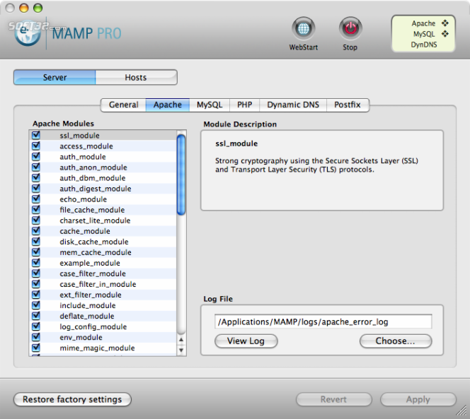 Download MAMP Pro & MAMP 1 9 6 for Mac Free