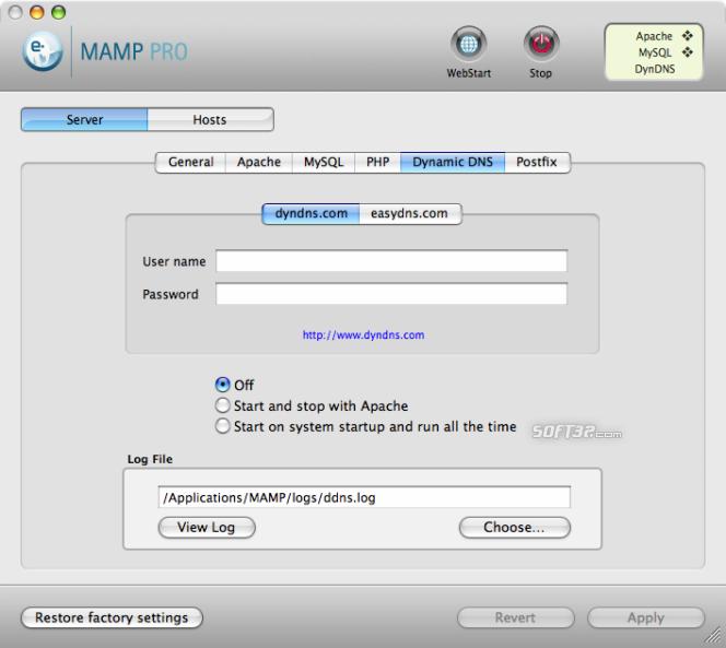 MAMP Pro & MAMP Screenshot 6