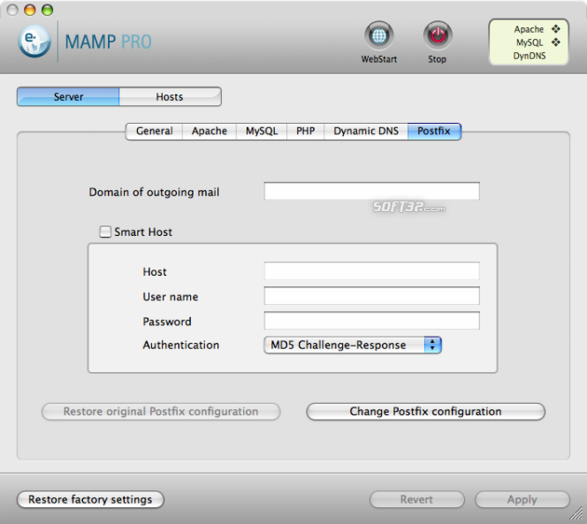 MAMP Pro & MAMP Screenshot 7