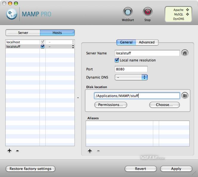 MAMP Pro & MAMP Screenshot 9