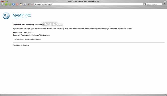 MAMP Pro & MAMP Screenshot 11