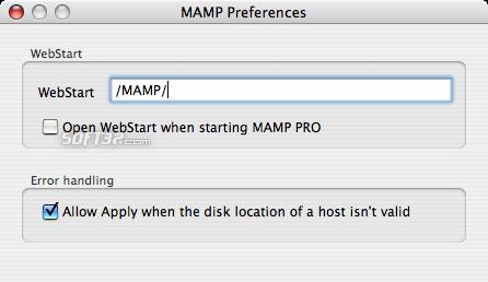 MAMP Pro & MAMP Screenshot 15