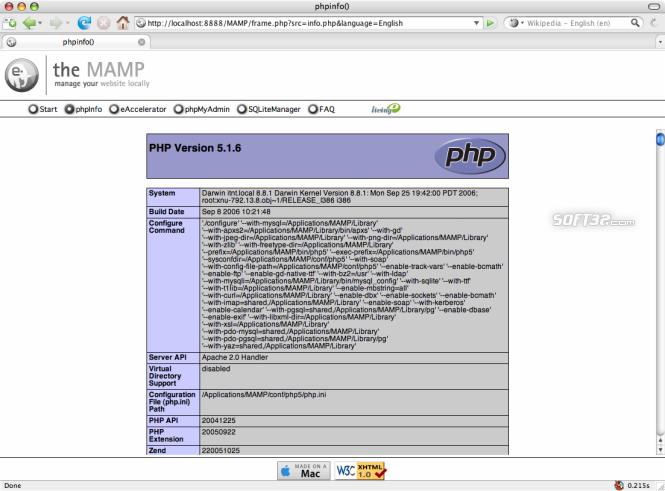 MAMP Pro & MAMP Screenshot 21
