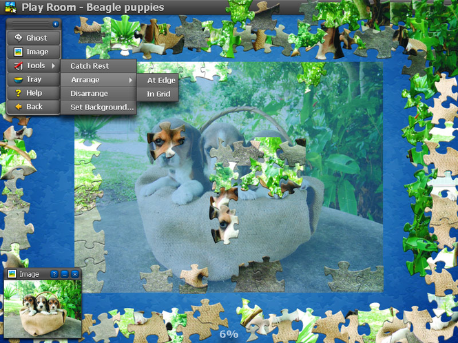 Jigs@w Puzzle Animals Screenshot 1