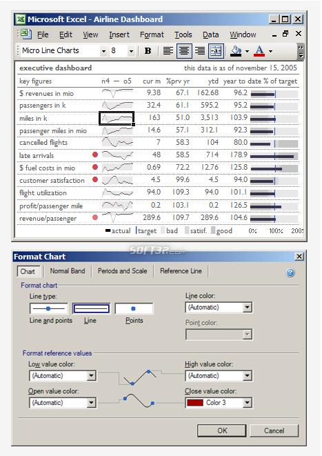 MicroCharts Screenshot 2
