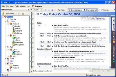PIM XP Screenshot 2