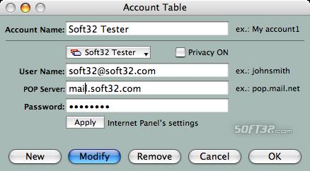Mailbox Manager Screenshot 2