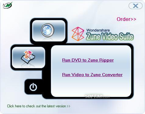 Wondershare Zune Video Suite Screenshot 1