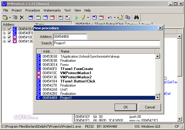 VMProtect Screenshot 3