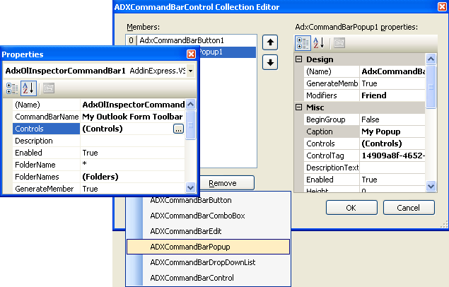 Add-in Express 2007 for VSTO Screenshot