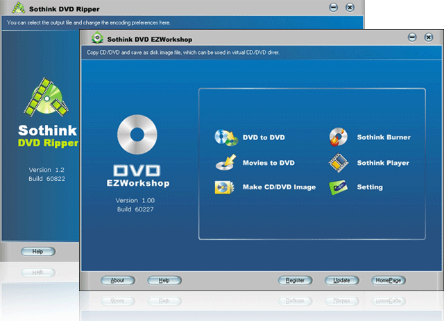 DVD Ripper + EZWorkshop Suite Screenshot 1