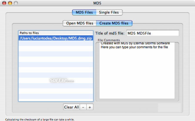 MD5 Screenshot 5