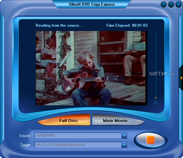 Xilisoft DVD Copy Express Screenshot 3