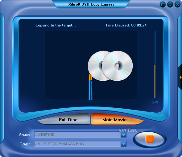 Xilisoft DVD Copy Express Screenshot 4