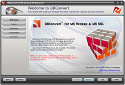 DBConvert for Access & MSSQL Screenshot