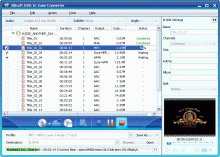 Xilisoft DVD to Zune Converter Screenshot 1