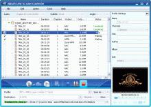 Xilisoft DVD to Zune Converter Screenshot