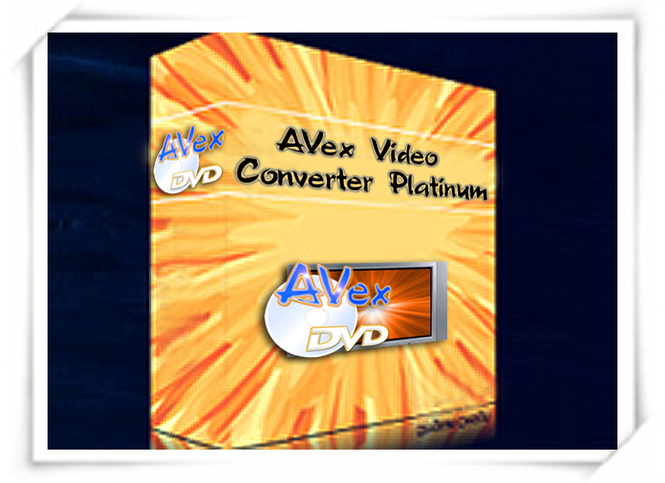 Avex Video Converter Platinum Screenshot