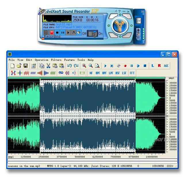 SOUND RECORDER XP Screenshot 2