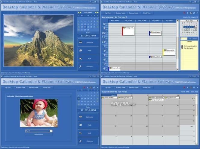 Desktop Calendar and Planner Software Screenshot 2