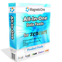 Zen Cart All-in-One Product Feeds Screenshot