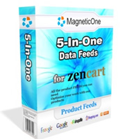 Zen Cart 5-in-One Product Feeds Screenshot