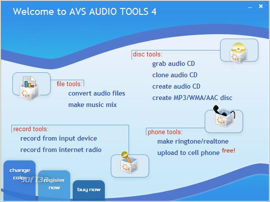 AVS Media Audio Tools Screenshot 2