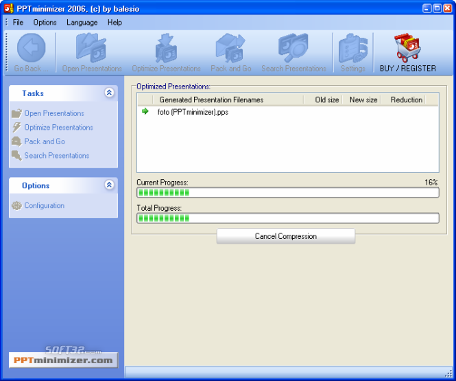FILEminimizer Office Screenshot 3