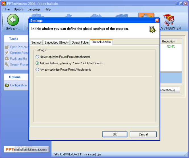 FILEminimizer Office Screenshot 6