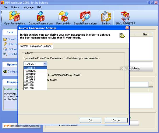 FILEminimizer Office Screenshot 7