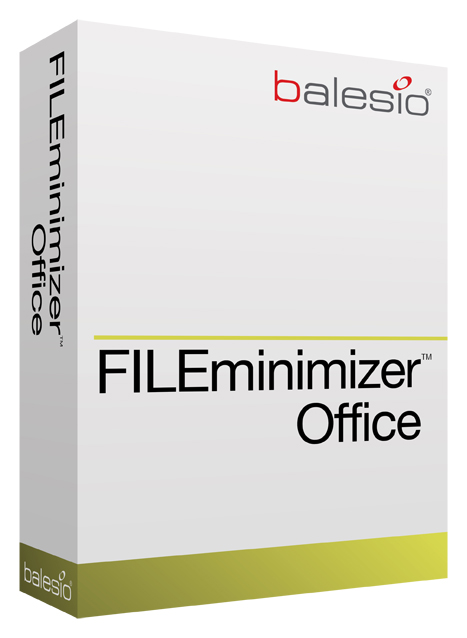 FILEminimizer Office Screenshot