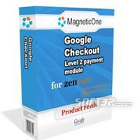 Zen Cart Google Checkout Level 2 payment module Screenshot 2