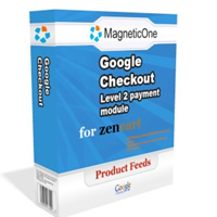 Zen Cart Google Checkout Level 2 payment module Screenshot 1
