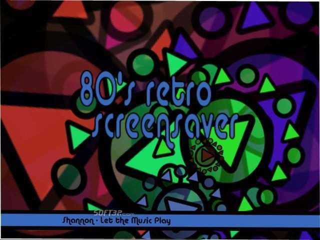 80's Retro Screensaver Screenshot 2