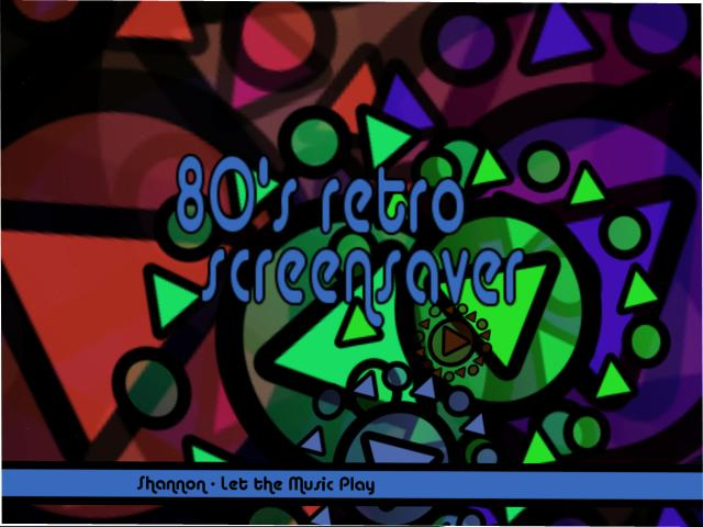 80's Retro Screensaver Screenshot