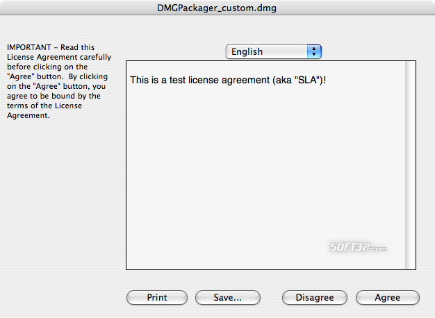 DMG Packager Screenshot 4