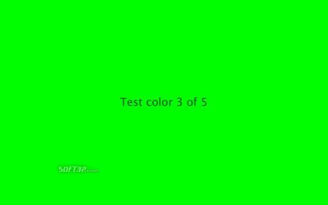 LCDtest Screenshot 3