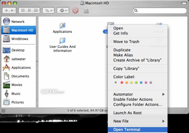 OpenTerminal Screenshot 2