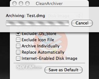 CleanArchiver Screenshot 2