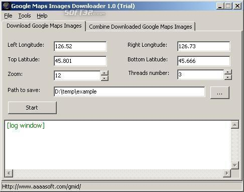 Google Satellite Maps Downloader Screenshot 3