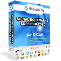 Social Bookmarks X-Cart Mod Screenshot 1